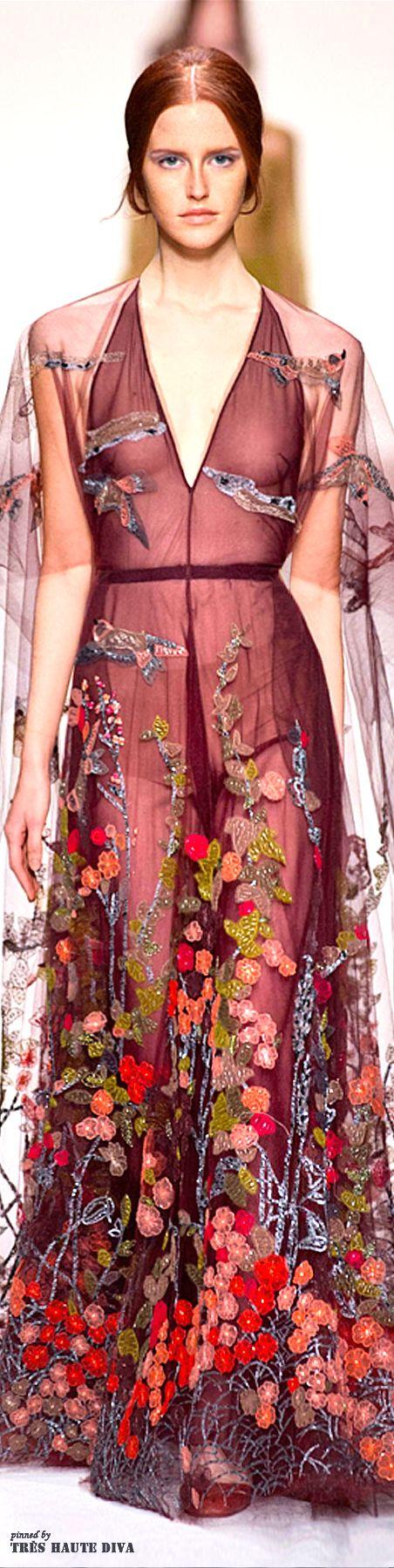 Paris Fashion Week Valentino Fall 2014 | The House of Beccaria~