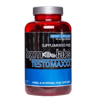 Your hunt for an effective testosterone boosting supplement that guarantees lean muscle strength and endurance is over.Meet TestoMaxxx by BPM Labs, one of the best testosterone boosting herbal ingredients.