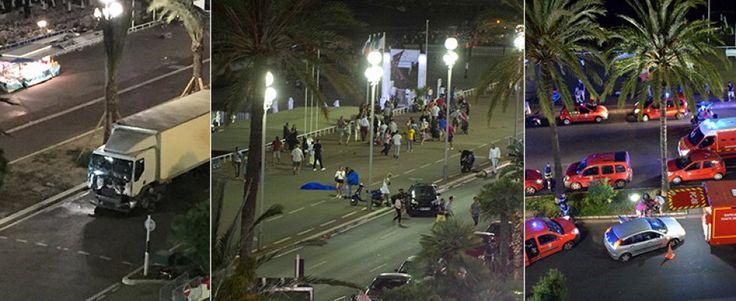 Gravissimo attentato terroristico a Nizza: tir piomba sulla folla. 83 i morti accertati/FOTO