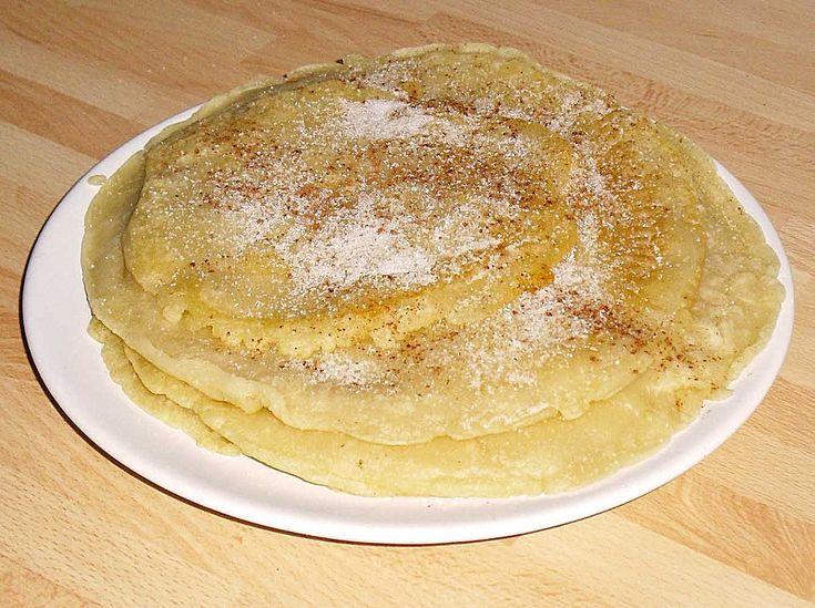 Pfannkuchen ohne Ei und Milch, ein tolles Rezept aus der Kategorie Mehlspeisen. Bewertungen: 87. Durchschnitt: Ø 4,2.