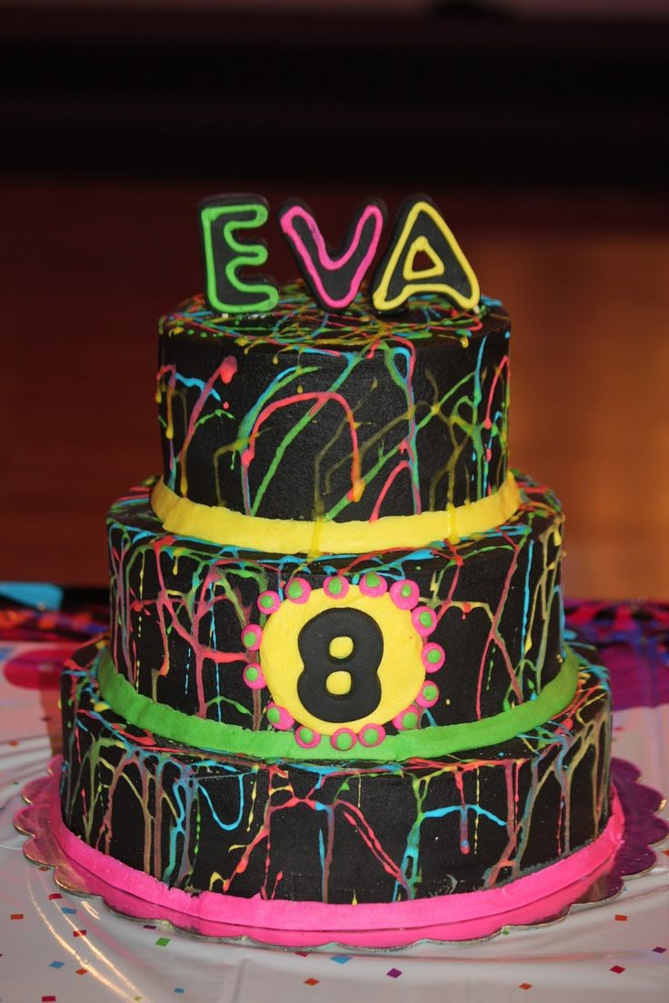 62 Best Images About Glow In The Dark Cake On Pinterest