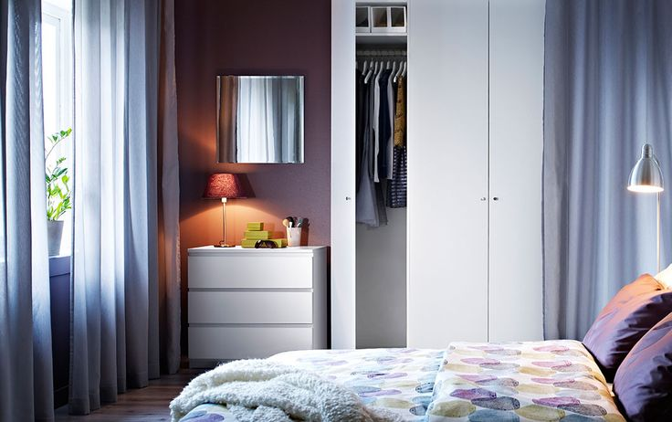 pax armoire blanche avec ballstad portes blanches et malm commode blanche maison pinterest. Black Bedroom Furniture Sets. Home Design Ideas