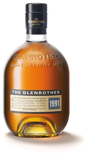 Vintage 1991 single malt whisky from Glenrothes; available from Whisky Please.