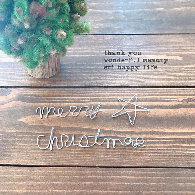 . . 2017.11.11(土) . . 100均でワイヤーとペンチを買って来て ワイヤークラフトに初挑戦!!! . かなり手強いッ( ˘•ω•˘ ).。oஇ . ワイヤークラフトと羊毛フェルトを合わて 何か作りたかったけど無理そう…。 . . . . . #ワイヤークラフト #ワイヤーアート #クリスマス #xmas #christmas #ツリー #tree #クリスマスツリー #christmastree #手作り #ハンドメイド #handmade #手芸 #手芸部 #babanicoe . .