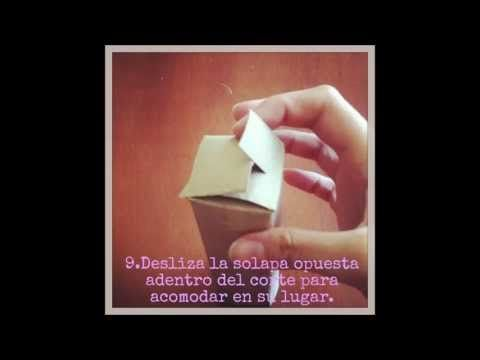 Caja Rectangular,a partir de un tubo de servilleta de papel http://www.youtube.com/user/SupernovaeUpcycles pagina de You tube #DIY tutorial #handmade #crafts #manualidad #caja #tubo #reciclado #reutilizado