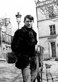 Pablo Picasso at Montmartre, place de Ravignan, c.1904