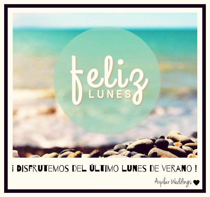 - Lunes de verano -   #arpilarweddings #lunes #monday #summer #buenasemana