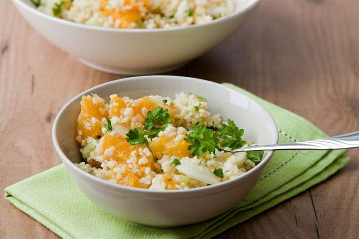 #Insalata di farro all'#arancia, una #ricetta perfetta per un #brunch easy #chic: http://www.saporie.com/it/doc-s-136-12342-1-insalata_di_farro_all_arancia.aspx #ricetta