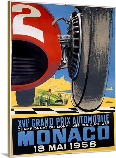 deco Monaco - Grand Prix Automobile 1958