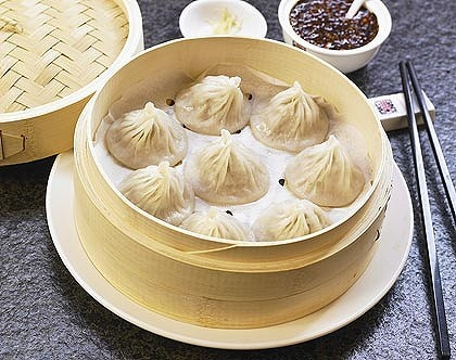 The most divine xiao long bao. HuTong Dumpling Bar, Market Lane, Melbourne CBD.