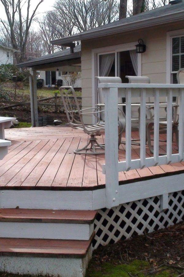 Koi Pond Designs Deck Design Wood Deck Designs Deck