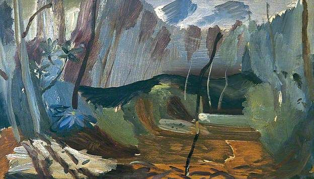 Westwood Glade, by Ivon Hitchins Date painted: c.1960 Oil on canvas, 51 x 89.5 cm Collection: Scarborough Museums and Gallery. An inspiring and under-rated artist.