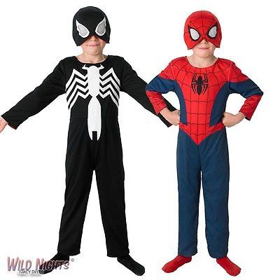 #Fancy dress #costume ~ boys marvel 2 in 1 ultimate spiderman ages 3-8 #years,  View more on the LINK: http://www.zeppy.io/product/gb/2/400752468417/