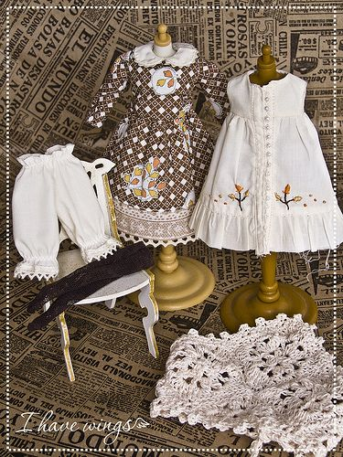 I have wings - Clothes for Blythe