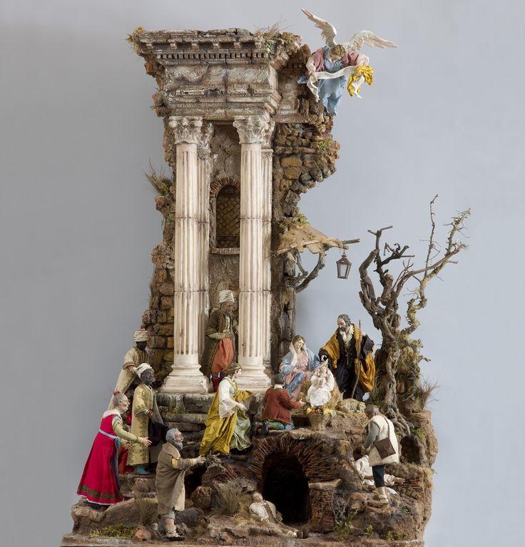 Neapolitan Style Crèche/Presepe Figures, Gruppo Didattico
