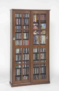 Sliding Door Inlaid Glass Mission Multimedia Cabinet (MS-700 Series) Walnut by Leslie Dame Enterprises  http://www.60inchledtv.info/tvs-audio-video/television-accessories/cd-racks/sliding-door-inlaid-glass-mission-multimedia-cabinet-ms700-series-walnut-com/