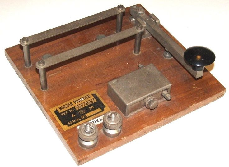 Buzzer #practice - #vintage #morse code 10f/4067,  View more on the LINK: 	http://www.zeppy.io/product/gb/2/192032692251/
