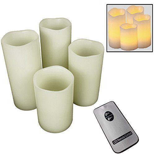 4er Set LED Kerzen stimmungsvolle Echtwachskerzen Wachskerzen mit Fernbedienung und flackernder Flamme, http://www.amazon.de/dp/B016MLYD3A/ref=cm_sw_r_pi_n_awdl_rwSDxb8RQS6VK