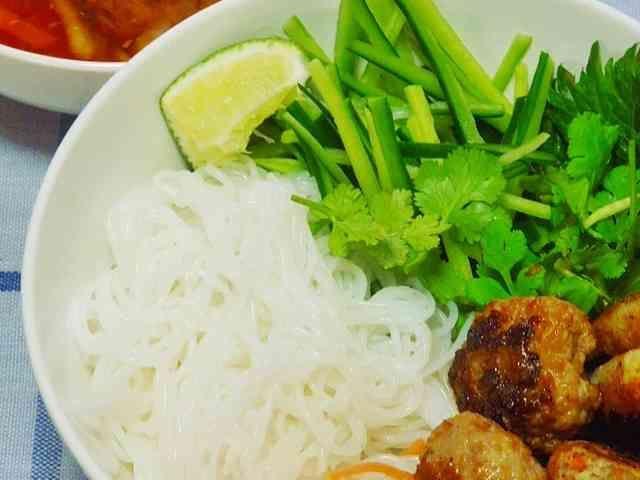 ベトナム版サラダ素麺☆ブンチャーの画像