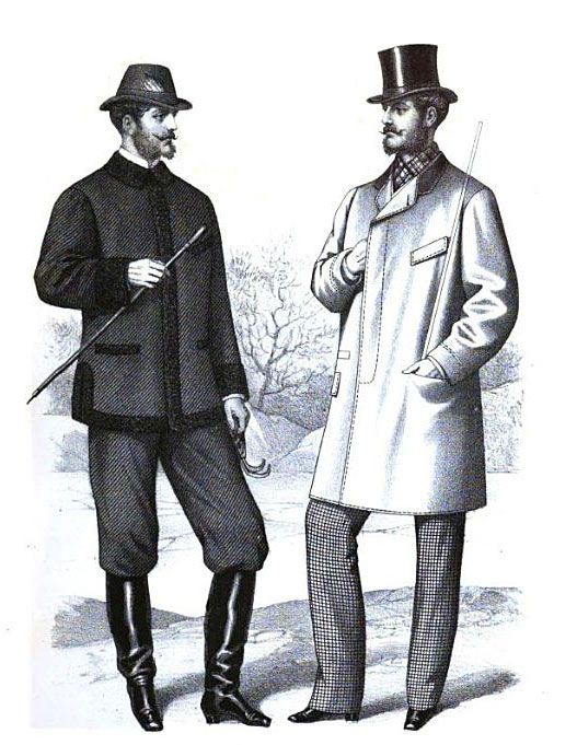"""From """"Gazette of Fashion, and Cutting-room Companion,"""" 1870"""