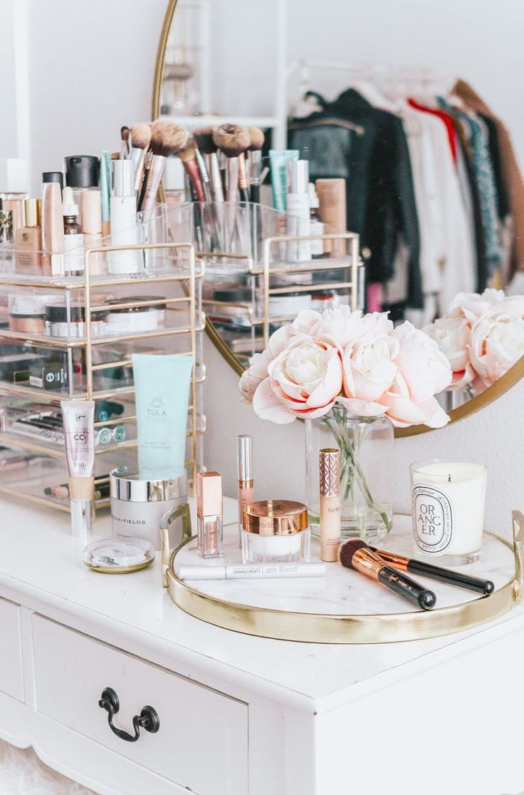 Makeup Vanity Table With Glass Top on Makeup Revolution