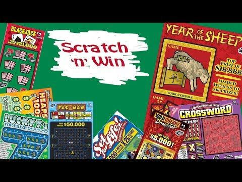 Scratch n Win Twosday Year of the Sheep - YouTube