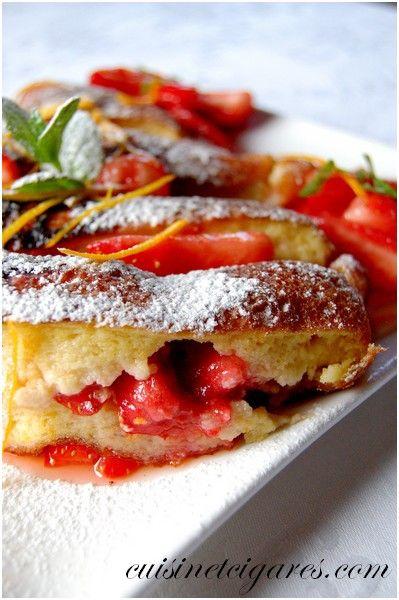 Omelette Soufflée aux Fraises 4