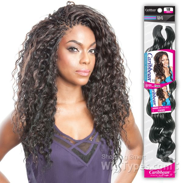 Isis Red Carpet Synthetic Caribbean Bundle Braid
