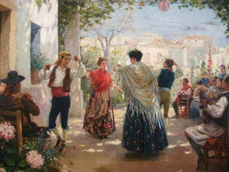Jota Valenciana (1913)-  Gabriel Puig Roda,  (Tírig 1865 - Vinaroz 1919)- Museo de Bellas Artes de Castellón