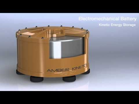 Energy Excelerator – Amber Kinetics, Inc.Founded in 2009, Amber Kinetics is developing low cost flywheel energy storage systems to help electric utilities integrate variable wind & solar generation. #energy #green #sustainable