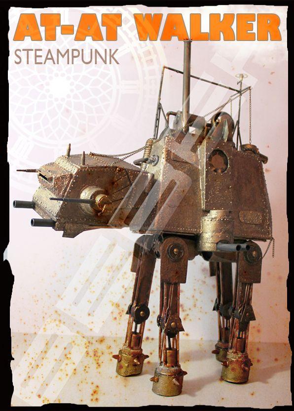 Steampunk AT-AT walker...