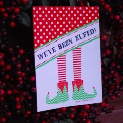 Elfing - Just like Booing your neighbors at Halloween time.  Love it!