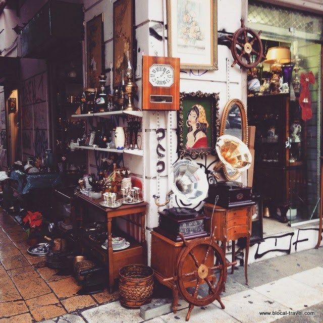 Atene, Monastiraki vintage market