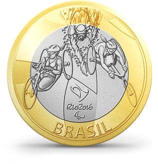 Moedas - Rio 2016 - Paratriatlo