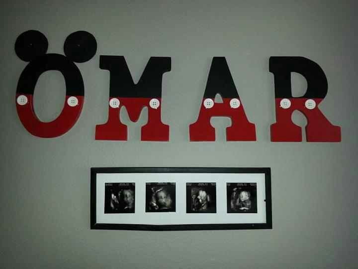 Diy mickey mouse nursery