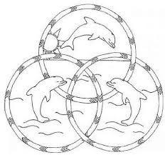 Resultado de imagen para delfines para colorear e imprimir