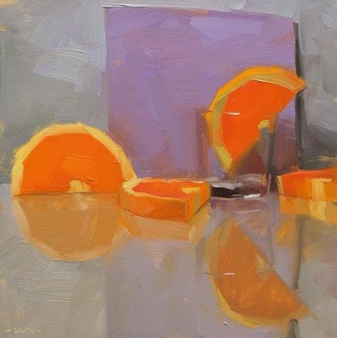 Blitzed, painting by artist Carol Marine: Paintings Orange, Life Paintings, Still Life, Marines Love, Fabulous Art, Daily Painters, Artists Carol, Art Carol Marines, Colors Composition
