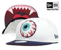 ★送料無料!ニューエラ×ミシュカ キャップ スナップバック キープ ウォッチ ホワイト 帽子 NEW ERA×MISHKA KEEP WATCH SNAPBACK WHITE