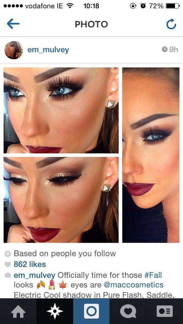 Love this look especially comin into autumn #makeup