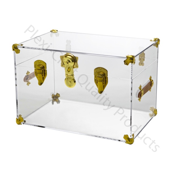 The Lucite Trunk is getting a lot of buzz lately! It looks great empty or with a few treasures inside!  Plexi-Craft