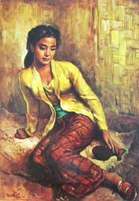 Basoeki Abdullah - Gadis Sunda