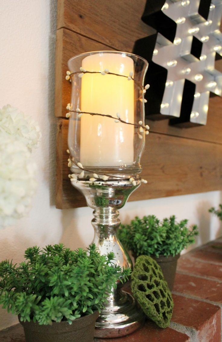 partavelas manualidades preciosas velas romanticas vaso cristal ideas