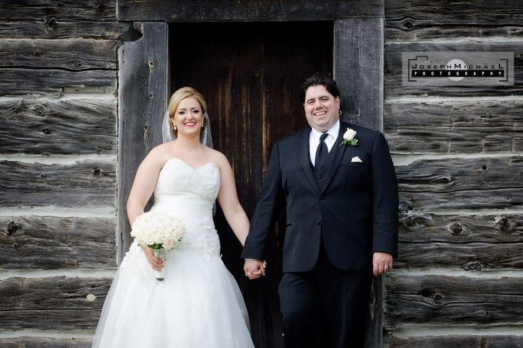 Markham Museum Wedding Photography, Vintage Wedding, Old Building or Barn or House, Bride and Groom Holding Hands, White Bouquet with White Boutonniere, GTA Weddings