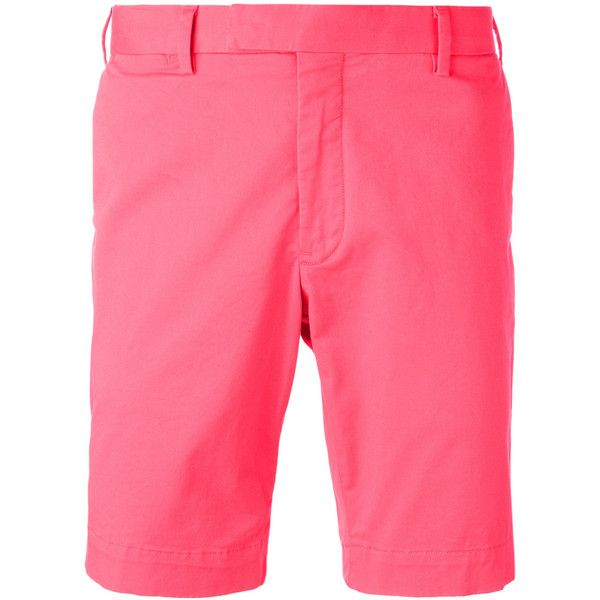 Polo Ralph Lauren chino shorts ($120) ❤ liked on Polyvore featuring men's fashion, men's clothing, men's shorts, red, mens red shorts, mens red chino shorts, mens chino shorts, polo ralph lauren mens shorts and polo ralph lauren mens clothing