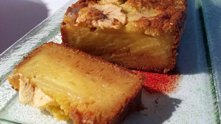 Cake aux pommes et beurre salé - Les Délices de Thermomix