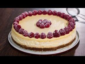 Tarta de queso – cheesecake. La receta original.