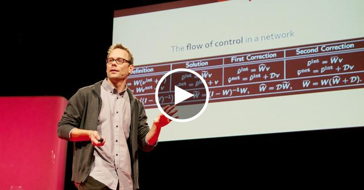 James Glattfelder studies complexity: how an interconnected system -- say, a swarm of birds -- is more than the sum of its parts. And complexity theory, it turns out, can reveal a lot about how the world economy works. Glattfelder shares a groundbreaking study of how control flows through the global economy, and how concentration of power in the hands of a shockingly small number leaves us all vulnerable.