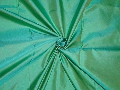 Ch 25.5 Sea-Blue-x-Sea-Green-colour-Silk-Dutchess-Satin-fabric