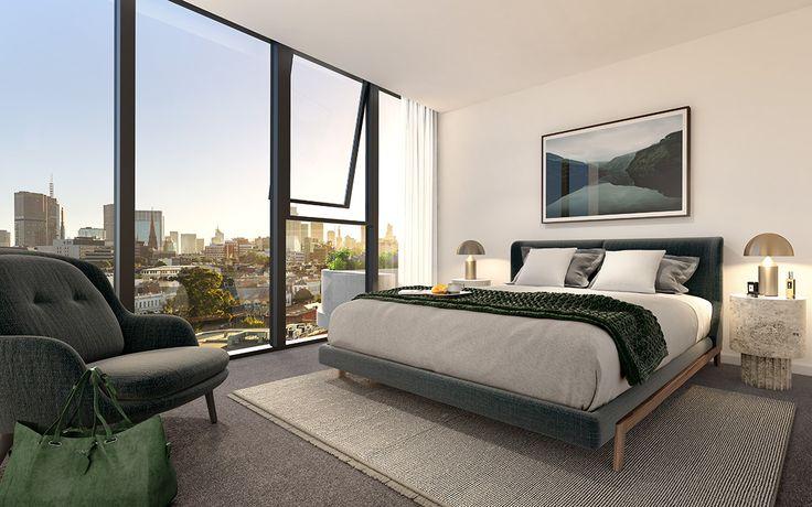 88 cambridge apartment development bedroom