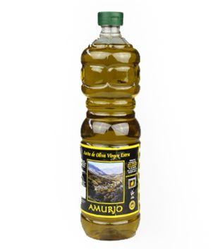 Aceite Sierra de Segura, Amurjo, 1 l. De color amarillento verdoso. Muy aromático y fresco en nariz, con marcados recuerdos frutales (manzana verde y tomate) y a hierba fresca. Denso y de fácil paso en boca, herbáceo y de puntas picantes y amargosas muy agradables. http://www.porprincipio.com/aceites/170-aceite-sierra-de-segura.html#